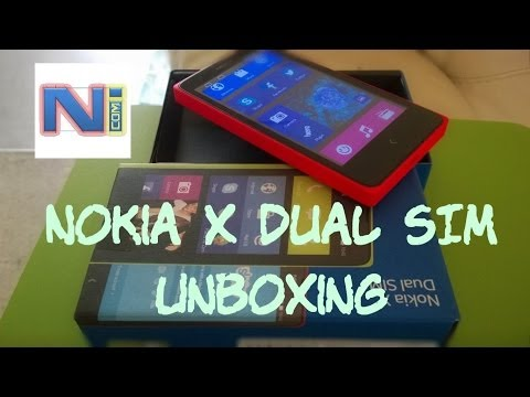 Nokia X Dual SIM Unboxing and First Look