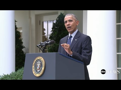 President Obama - The Paris Agreement Takes Affect
