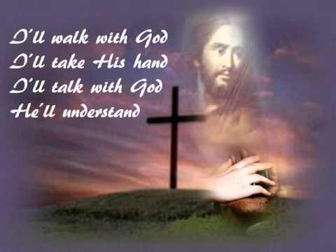 MARIO LANZA - I'LL WALK WITH GOD LYRICS