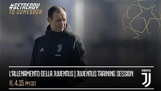 Juventus training session #JuveAtleti
