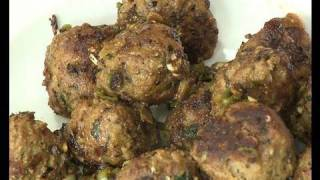 Garlic Pepper meat balls ..