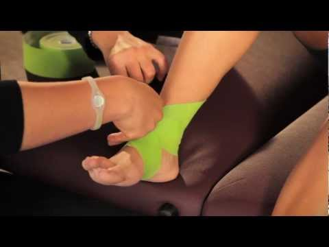 PerformTex Tape.  How To Tape for Ankle Sprain Support