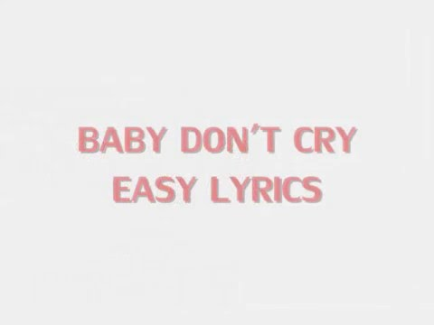 EXO - Baby don't cry ♥ [Easy Lyrics/Hangul] ♥