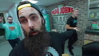 The Papa John's All-You-Can-Eat Deep Crust Launch Challenge   C.O.B. Ep.33