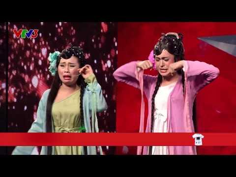 Vietnam's Got Talent 2014 - TẬP 07 - Kịch Thanh xà, bạch xà - Nhóm Chuồn Chuồn Giấy