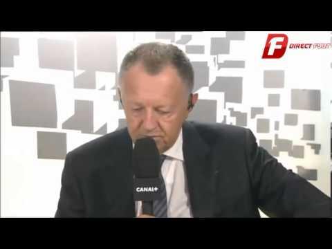 Clash entre Pierre Ménes et J.M Aulas!