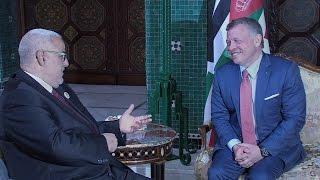 ابن كيران يضحك العاهل الأردني
