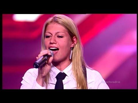 Maja Novaković i Marinela Đogani (Tužna pesma, This world) audicija - X Factor Adria - Sezona 1