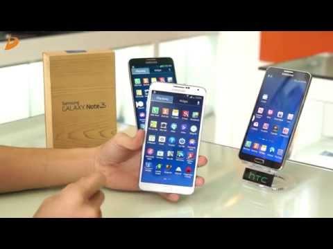 D'channel - Hướng dẫn chọn mua SAMSUNG GALAXY NOTE 3 chuẩn T-Mobile