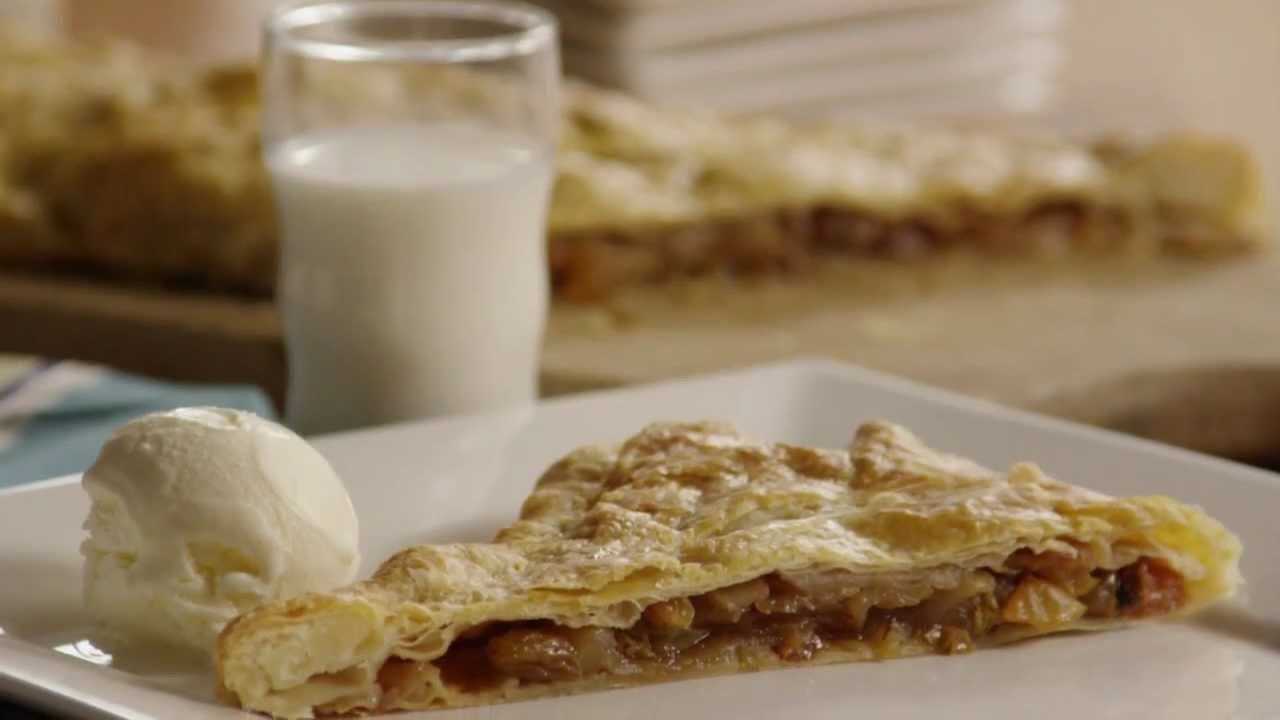 how to make apple strudel with pie crust