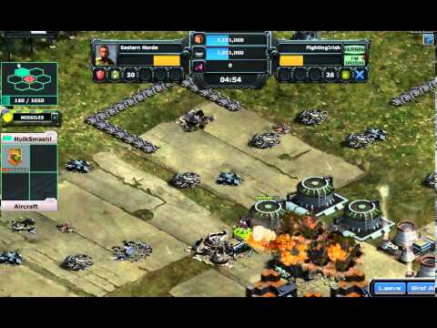 Fighting Irish on War Commander: Terrorist attack Eastern Base!