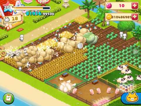 Meow meow star acres farm hack with igameGuardian 2015.  SUBSCRIBE for more video ✌️