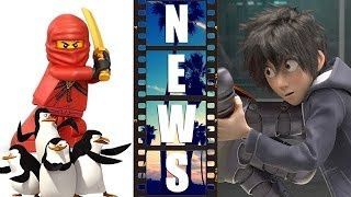 Ninjago Movie 2016, Big Hero 6 First Look, Penguins Of