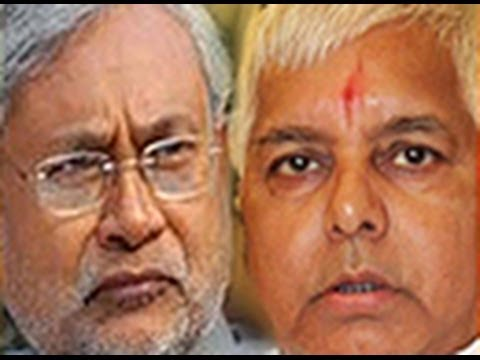 Nitish Kumar officially seeks Lalu Yadav's help