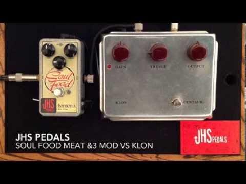 JHS EHX Soul Food Meat & 3 Mod vs Klon Centaur