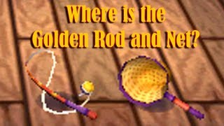Animal Crossing New Leaf: Where Is The Golden Rod And Net
