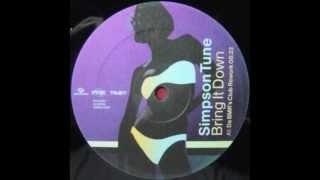 Simpson Tune - Bring It Down (Da B.M.R's Club Rework)