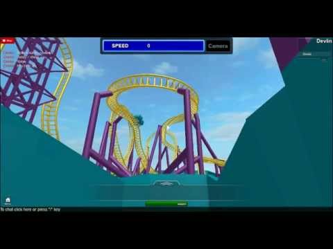 how to build a roller coaster roblox