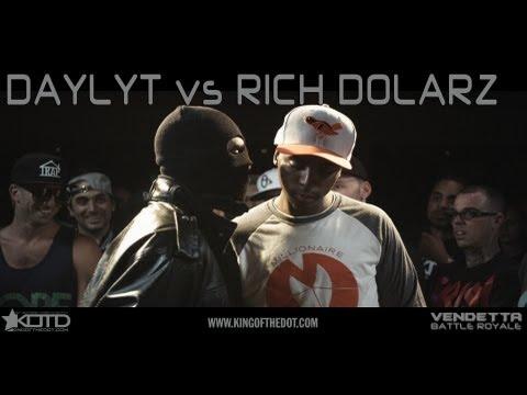 KOTD - Rap Battle - Daylyt vs Rich Dolarz