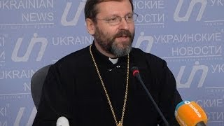 """Глава УГКЦ Блаженніший Святослав: """"Ми завжди були, є і будемо зі своїм народом"""""""