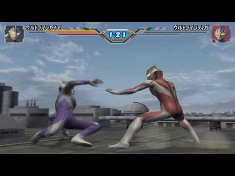 Sieu Nhan Game Play   chơi game ultraman fighting eluvation 3   Ultraman Tiga