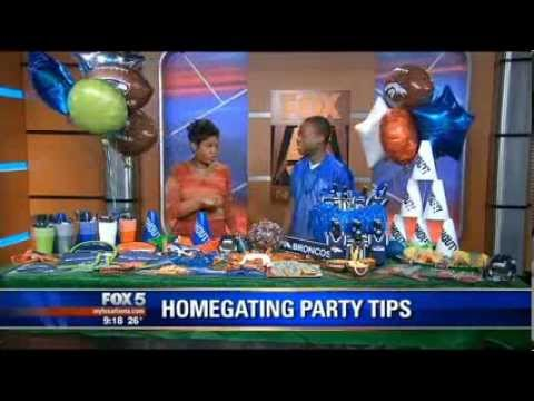 Good Day Atlanta Super Bowl Homegating 101 - Jarryd Boyd