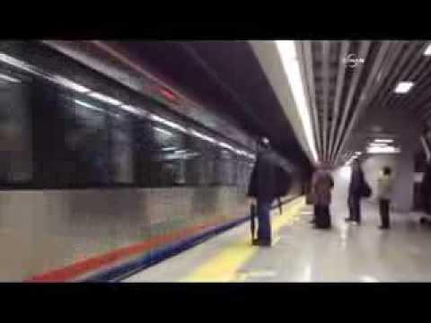 Marmaray'ın Sirkeci istasyonu açıldı