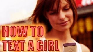 HOW TO TEXT A GIRL ( 3 BIGGEST MISTAKES GUYS MAKE WHEN
