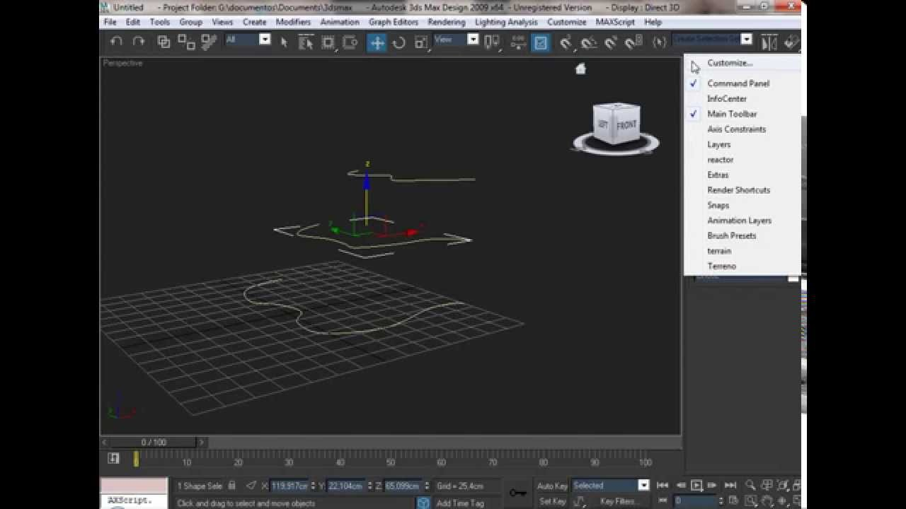 3d studio max tutorial como hacer un terreno en 3d max for 3d max tutorial