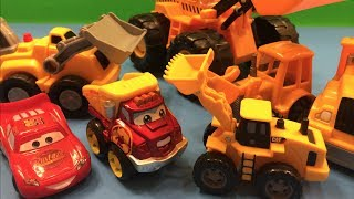 Disney Lightning McQueen And Mater Watch Bulldozers