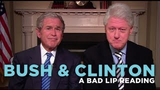BLR: Bush and Clinton