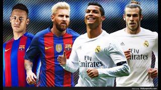 Gareth Bale & Ronaldo Vs Messi & Neymar WWE 2K14