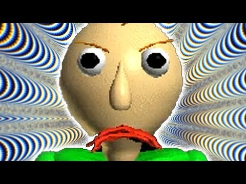 BALDIS BASICS IS THE SPOOKIEST GAME IN THE HISTORY OF THE WORLD AND UNIVERSE