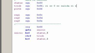 Programar Pic 1-4 (encender Y Apagar Los Led's Del PORTB