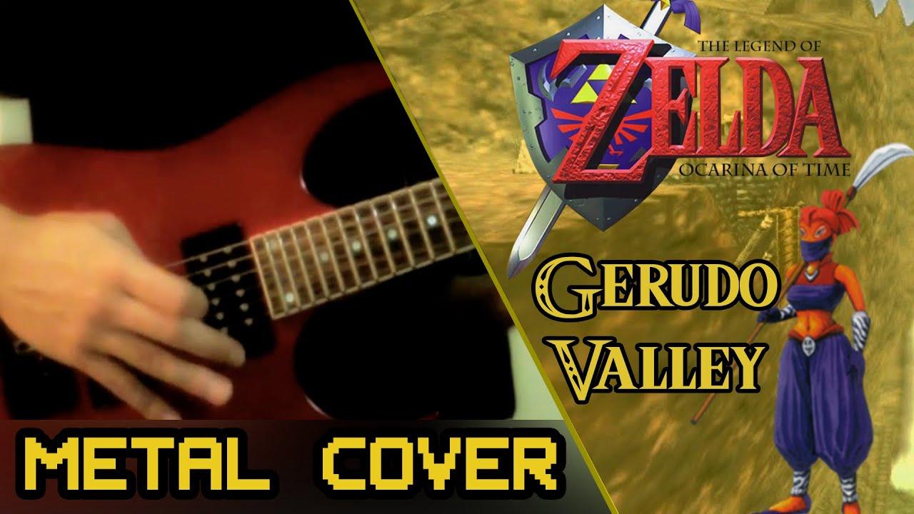Zelda OoT: Gerudo Valley - Guitar Remix - YouTube