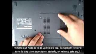 Prender un portatil sin el botón de encendido