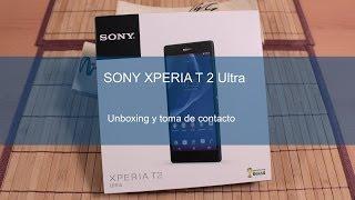 Sony Xperia T2 Ultra, Unboxing Y Toma De Contacto En Español