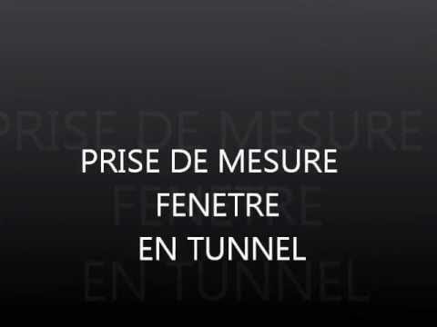pose d 39 une fenetre en tunnel youtube. Black Bedroom Furniture Sets. Home Design Ideas