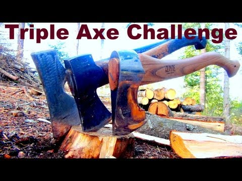 Who Builds The Best Axe? You'll Be Surprised