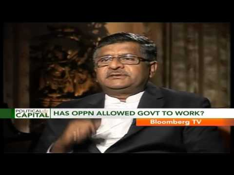 Political Capital - Go By NDA's Economic Track Record: Ravi Shankar Prasad