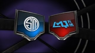 TEAM SOLOMID  vs LMQ W3D1 Game 1 NA LCS Summer Split S4 2014...
