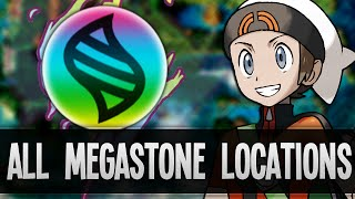 How & Where To Catch/get All 48 Megastones Locations In