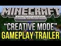 "Minecraft (Xbox 360) - 1.8.2 Update ""Creative Mode"" GAMEPLAY TRAILER Analysis + SCREENSHOTS"