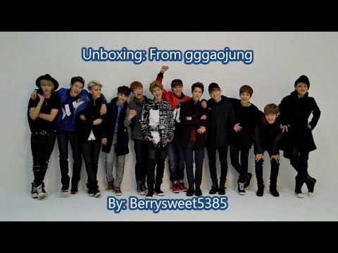 [Unboxing] Ebay purchase from gggaojung