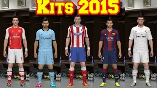 PES 2014 Kits 2015 & Alternative