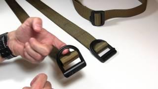 Double D Ring Belt Jiu Jitsu