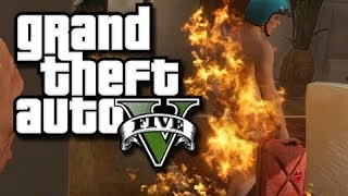 GTA 5 Online Funny Moments! (House Party Gone Wrong And