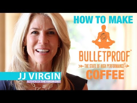 How To Make Bulletproof Coffee in 3 Steps with JJ Virgin and Dave Asprey