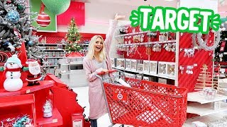 CHRISTMAS SHOPPING AT TARGET!! | Vlogmas Day 2