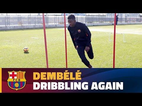 Dembélé's recovery continues